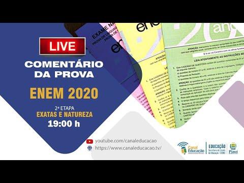 Pré Enem Seduc-PI Comentário 2º dia de  Prova  ENEM 2020 | 25/01/2021