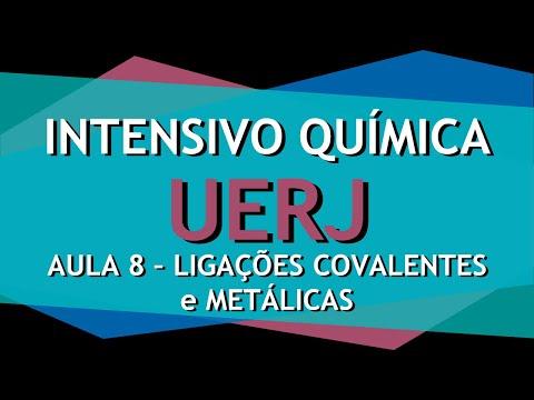 Intensivo UERJ Química - AULA 8 - Ligações químicas: Ligações covalente e metálicas