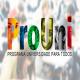 Quais são os tipos de bolsa oferecidos no Prouni?